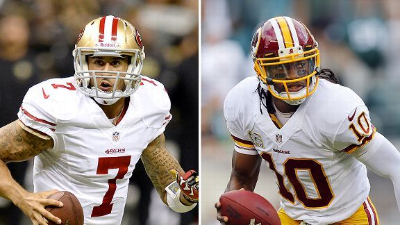 Top stats to know: 49ers vs. Redskins