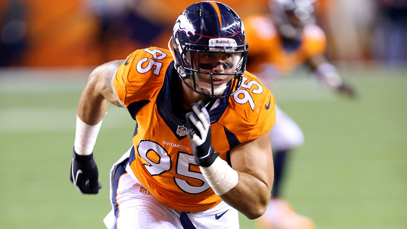 Broncos defensive end Derek Wolfe injuries right leg Sports Empire