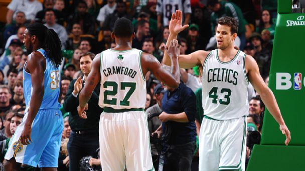 Kris Humphries and Jordan Crawford