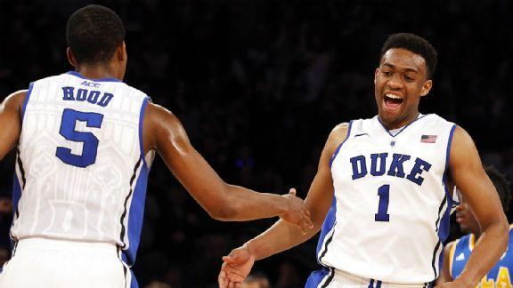 Duke Uses Star Power To Beat No 1 Syracuse Stats Info Espn