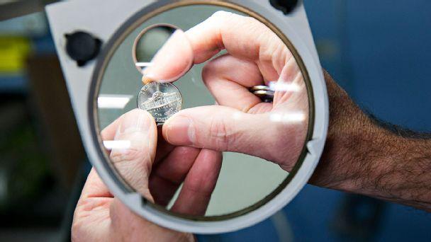 Nickel Under Microscope