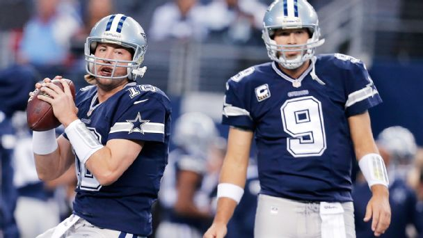 Kyle Orton and Tony Romo