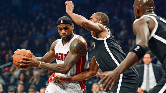 LeBron fouling out fuels Nets 2-OT win
