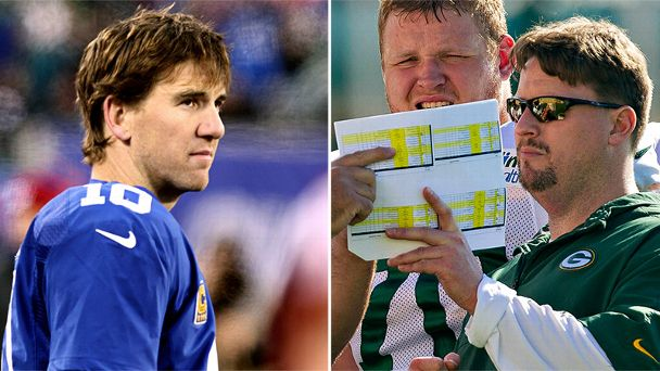 Eli Manning and Ben McAdoo