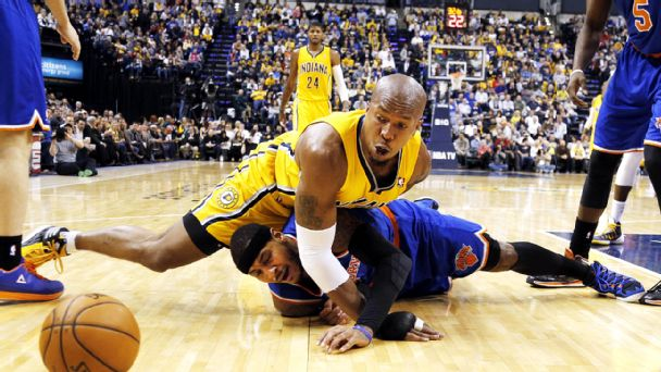 Carmelo Anthony and David West