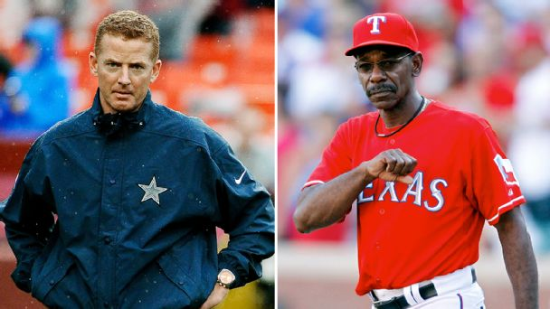 Jason Garrett and Ron Washington