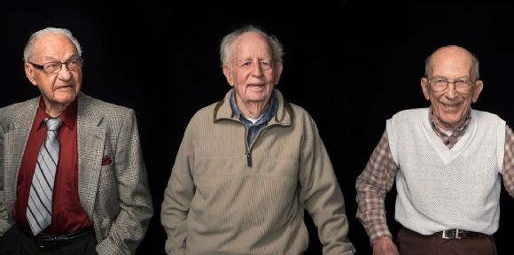 Andy Lukac, Tom Cosgrove, and Henry Leer