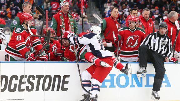 Rangers v Devils