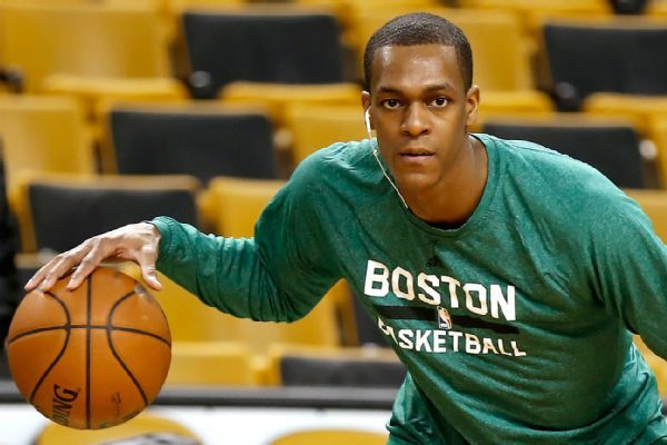 Rajon Rondo hopes to leave his mark on the Lakers-Celtics rivalry by winning rings in both cities