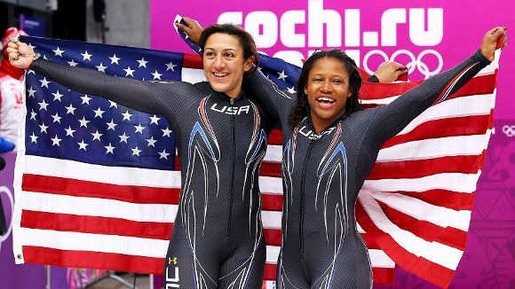 Elana Meyers, Lauryn Williams