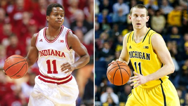 Yogi Ferrell and Nik Stauskas