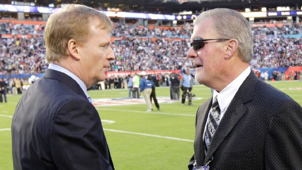 Roger Goodell and Jim Irsay