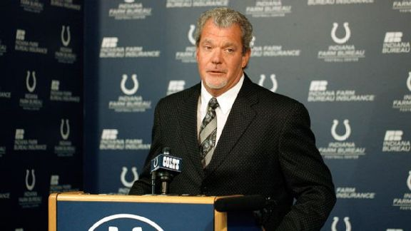 Irsay Suspended Six Games