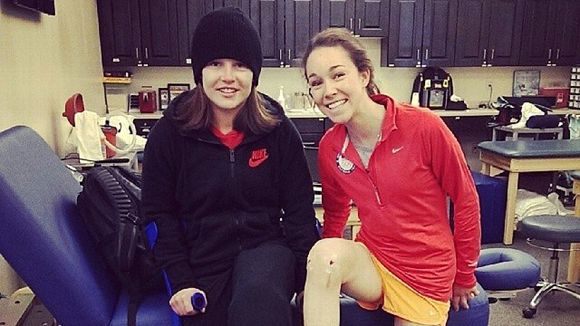 Sarah Hendrickson and Lindsay Van