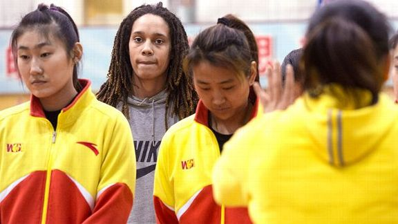 Griner's Basketball Journey