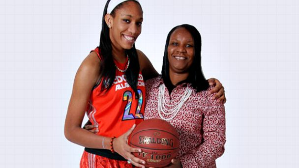 A'ja and Eva Wilson