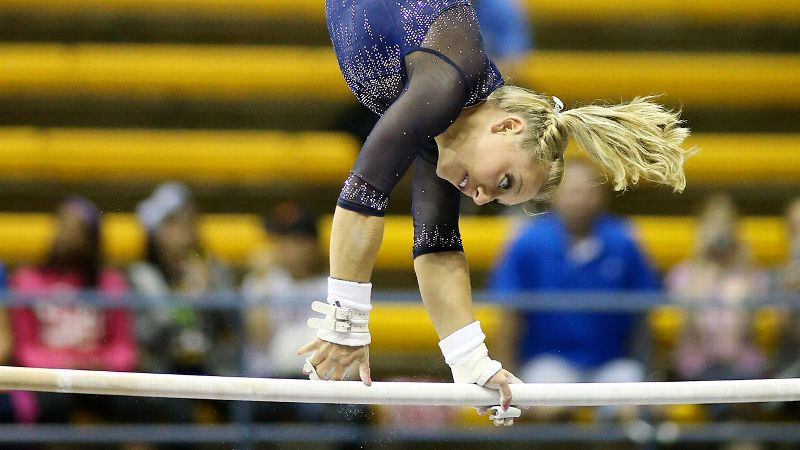 NCAA gymnastics championships -- The difference between college and ... d0a4cedc7