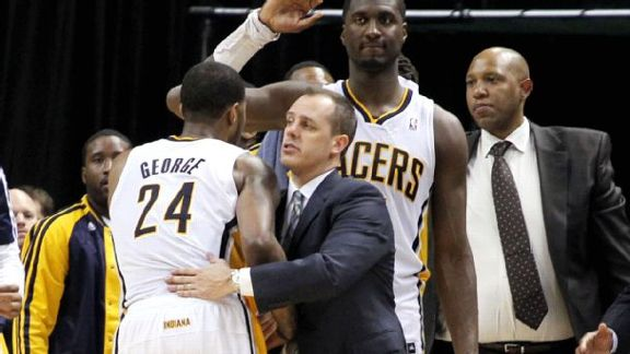 Vogel 'Coaching For His Job'