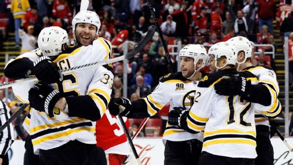 Bruins' Best Just Too Good