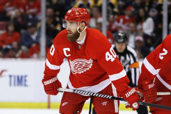 Back injury ending Henrik Zetterberg's Red Wings career
