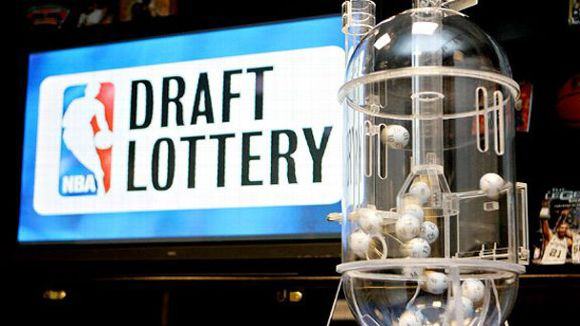 NBA lottery machine