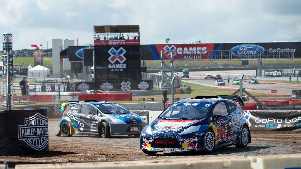 The difference between RallyCross Lites and Ford RallyCars comes ...