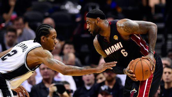 Kawhi Leonard wreaking havoc on LeBron - Stats & Info- ESPN