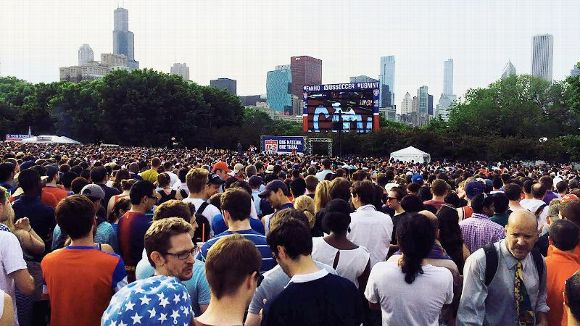 Chicago Crowd