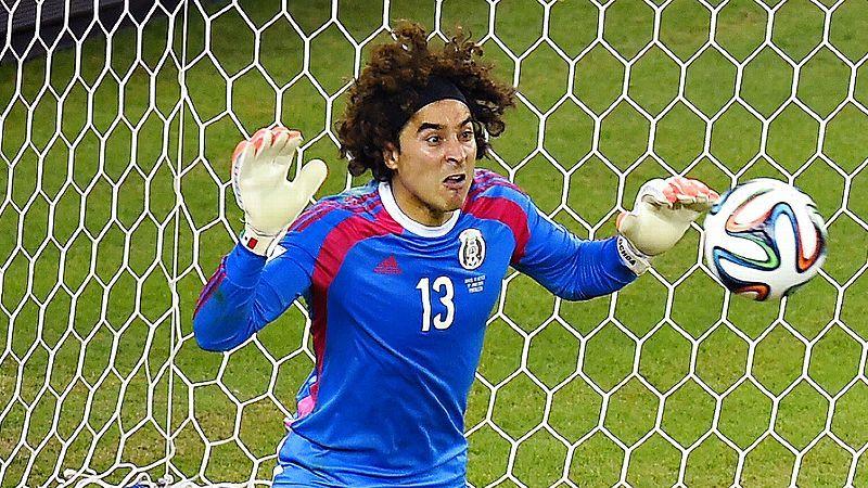 273e2cc49ee Buzz That Was -- Mexican goalkeeper Guillermo Ochoa scores big ...