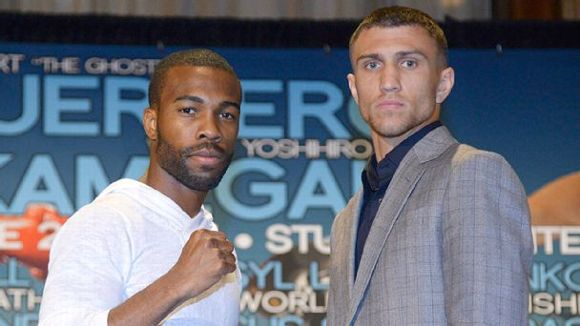 Gary Russell Jr. and Vasyl Lomachenko