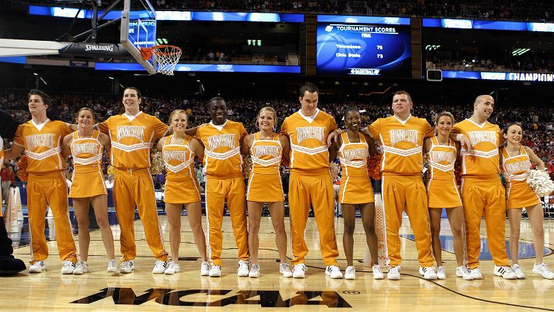 espnw former college cheerleader says sorry cheerleading is  tennessee