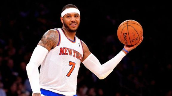 Why Carmelo Is Staying In N.Y.