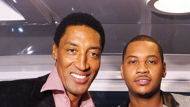 Scottie Pippen, Carmelo Anthony
