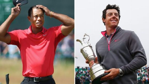 Tiger, Rory Linked At Open