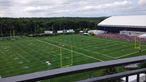 Exterior fields at Gillette Stadium
