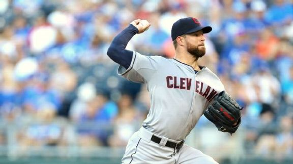 Kluber Allows A Hit