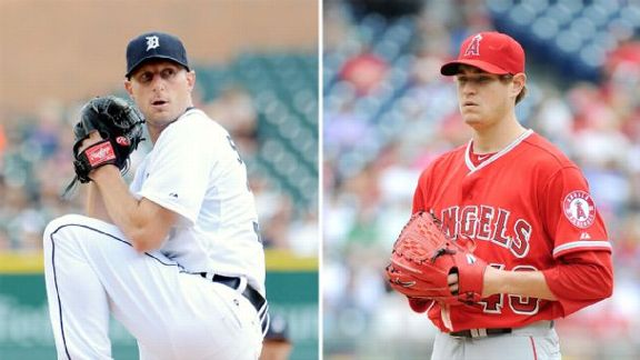 Scherzer, Richards Go For 12