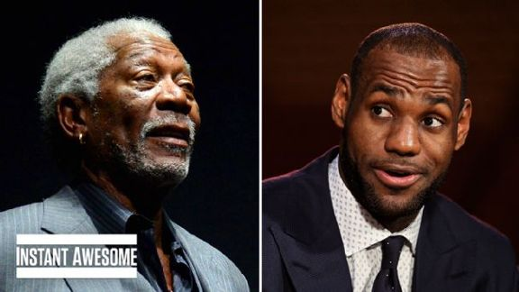 Morgan Freeman As LeBron