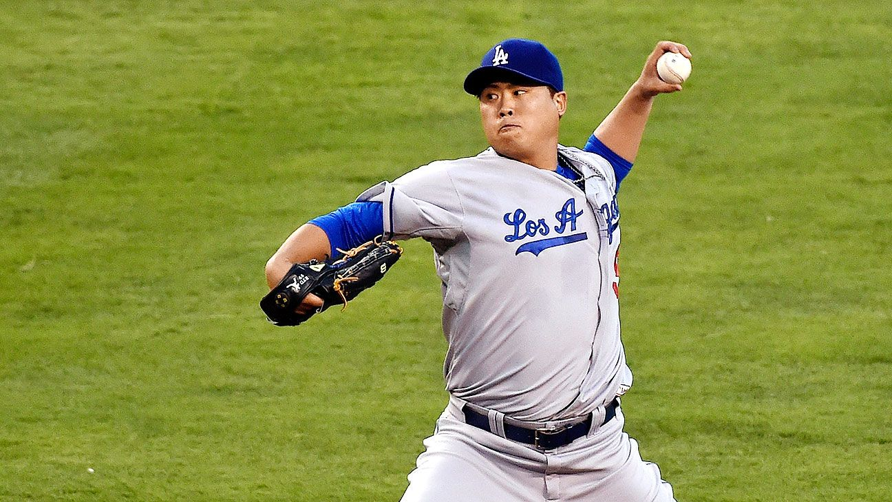 With Hyun-Jin Ryu in the rotation, Dodgers move Kenta Maeda and Ross Stripling to the bullpen