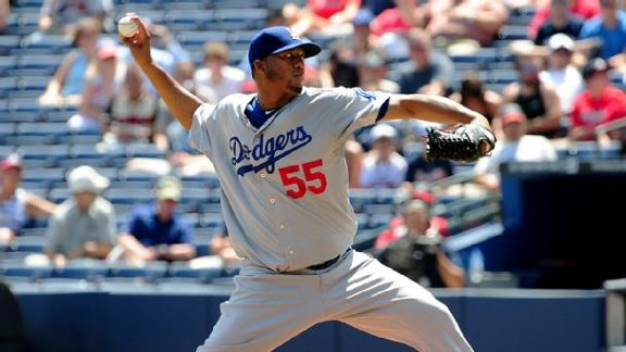 Dodgers Fall Behind Pads