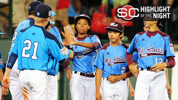 It's Nevada's Night In LLWS