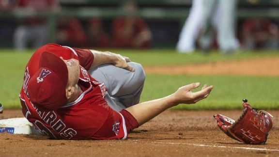 Ace's Injury Hurts Angels