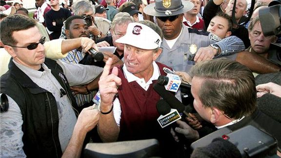 Spurrier Loves Life, Winning