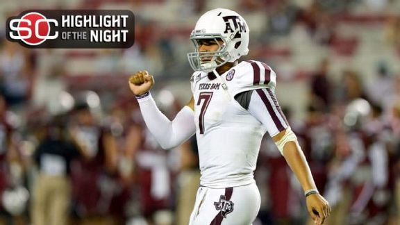 New QB, No Problem For A&M