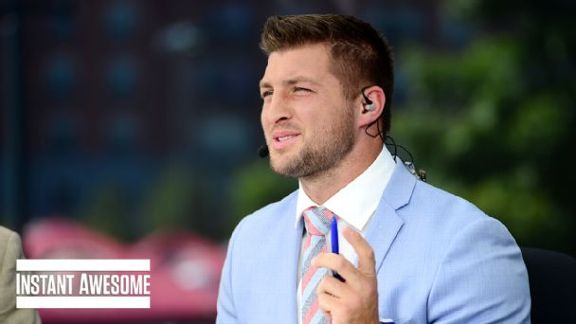 Tebow's Spurrier Impression