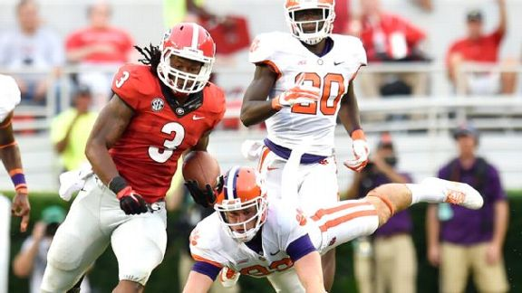 Gurley, Dawgs Run Over Tigers