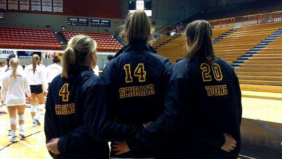 USC Volleyball seniors