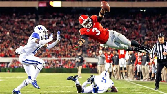 Gurley isn't running from the NFL's questions