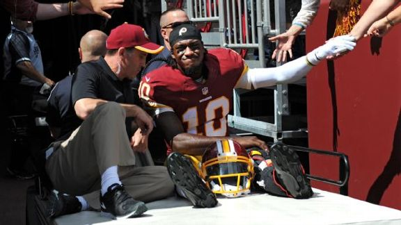 RG III Out For Rest Of Game