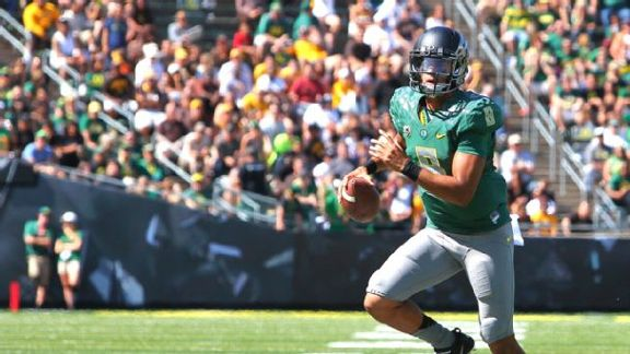 Mariota Making Heisman Run